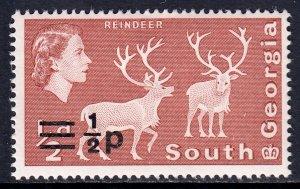 South Georgia - Scott #17 - MH - SCV $1.25