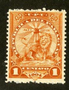 PARAGUAY 91 MH BIN $.30