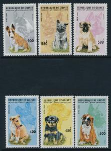 Guinea 1340-5 MNH Dogs