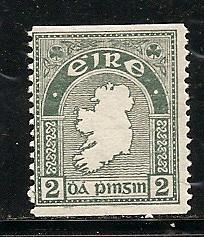 Ireland 92 1934 2d Coil MLH