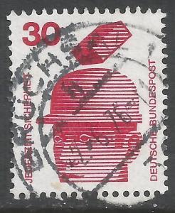 GERMANY 1078 VFU Z4235-5