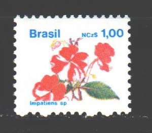 Brazil. 1989. 2305 from the series. Flowers, flora. MNH.