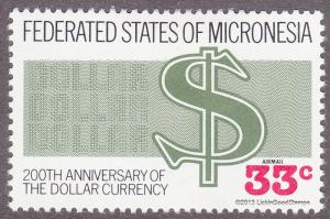 Micronesia C28 Dollar Currency 1987