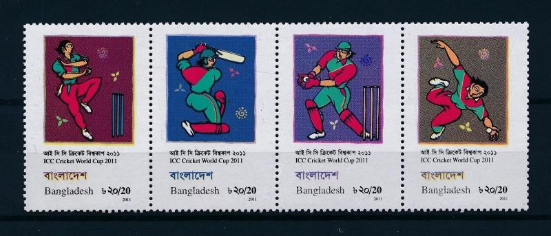 [57914] Bangladesh 2011 Cricket ICC World Cup MNH