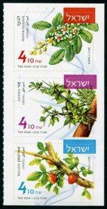 HERRICKSTAMP NEW ISSUES ISRAEL Sc.# 2151-53 Aromatic Plants