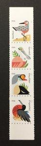 U.S. 2015 #4994a Self Adhesive, Coastal Birds, MNH, see note.