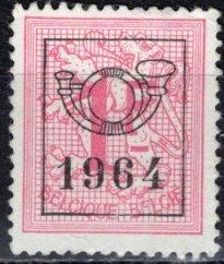 Belgium; 1951: Sc. # 420; O/Used PreCancelled Single Stamp