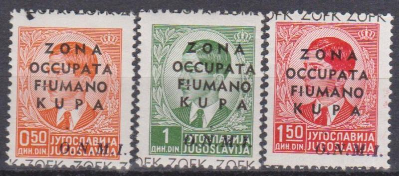 Yugoslavia Italy Occupation Fiume Kupa 1941 (B10344)