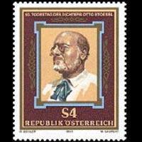 AUSTRIA 1986 - Scott# 1366 Writer O.Stoessl Set of 1 NH