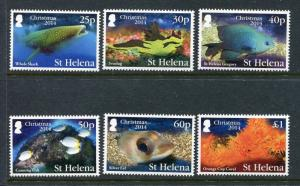 St Helena 1087-1092 MNH Marine Life Fish 12014. x29303