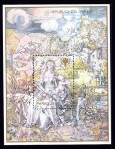 Paraguay C477 Souvenir Sheet MNH VF