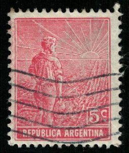 Republica Argentina, 5 c, Watermark (Т-6551)