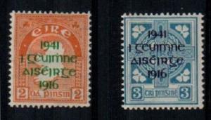 Ireland Scott 118-19 Mint hinged (Catalog Value $53.00)