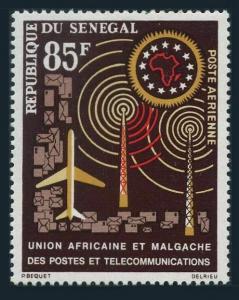 Senegal C32,MNH.Michel 273. African Postal Union,1963.