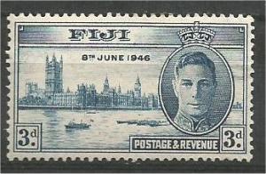 FIJI, 1946, MH 3p, Peace Issue, Scott 138