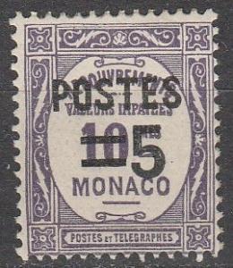 Monaco #131 F-VF Unused  (S7759)