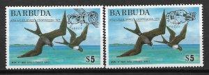 1975 Barbuda 213-4 Apollo-Soyuz/ USA-USSR Space Cooperation Overprint MNH