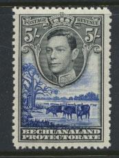 Bechuanaland  SG 127 Lightly Mounted Mint