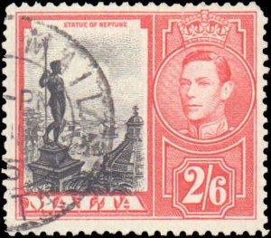 Malta #203, Incomplete Set, 1938-1947, Used
