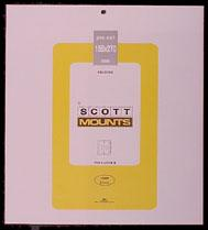 Scott Mounts Black, 159/270 mm (pkg 4) (01004B)