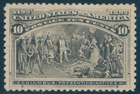 US Scott #237 Mint, VF, NH
