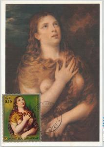 62789 - PARAGUAY - POSTAL HISTORY: MAXIMUM CARD 1971 - ART: TIZZIANO