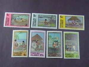 TOKELAU # 49a-56a -MINT NEVER/HINGED-COMPLETE SET---QEII----1981