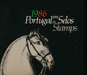 PORTUGAL EM SELOS (IN STAMPS) 1986 YEAR BOOK