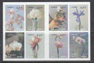 Spain 3145 MNH 2002 Flowers Booklet (ap7234)