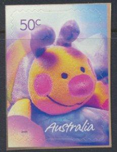 Australia  SC# 2358  MNH S/A on backing Child's Plush - see detail & scan