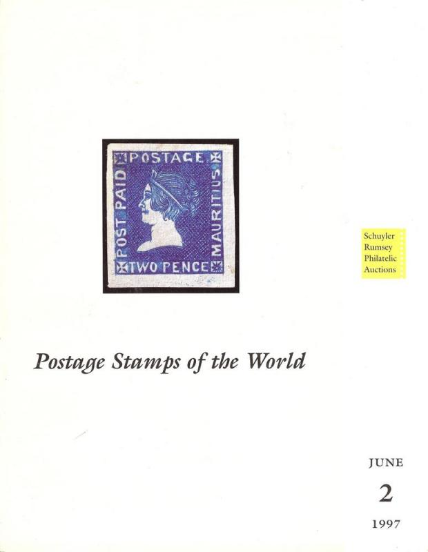 Rumsey: Sale # 2  -  Postage Stamps of the World, Schuyle...