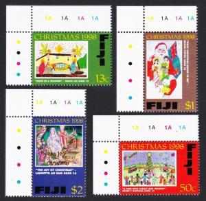Fiji Christmas Children's' Drawings 4v SG#1036-1039 SC#835-838