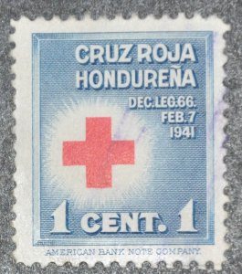 DYNAMITE Stamps: Honduras Scott #RA1 – USED