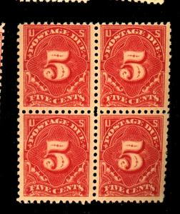 J64 mint block f-vf og nh  Cat $130