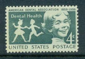 1135 4c Dental Health Fine MNH
