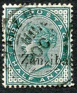 Zanzibar SG3Var 1/2d Blue-green Small second Z