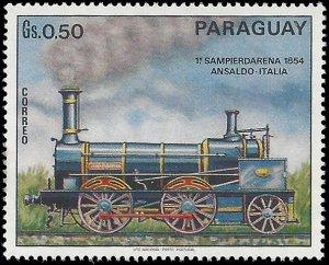Paraguay #1400 1972 Mint H