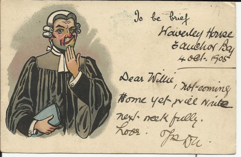 Postcards  South Africa :Satirical