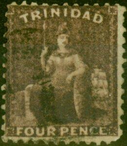 Trinidad 1862 4d Deep Purple SG61 Fine Used