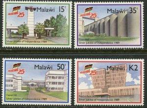 MALAWI Sc#546-549 1989 25th Anniversary Complete Set OG Mint Hinged