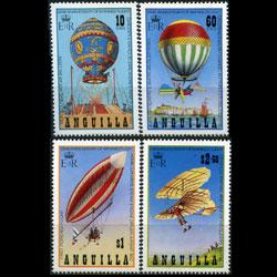 ANGUILLA 1983 - Scott# 542-5 Manned Flight Set of 4 NH