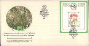 South Africa, Ciskei, Worldwide First Day Cover, Flowers