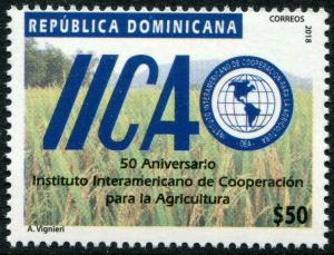 HERRICKSTAMP NEW ISSUES DOMINICAN REPUBLIC Agricultural Cooperation
