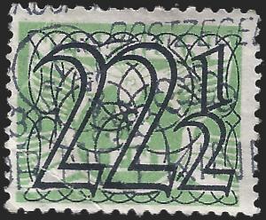 Netherlands 1940 Sc 233c uf crease