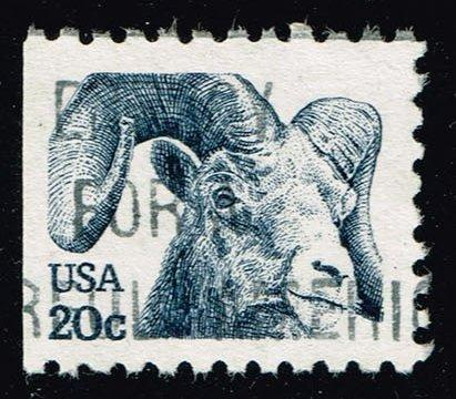 US #1949c Rocky Mountain Bighorn Sheep; Used (0.25)