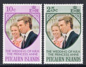 Pitcairn Islands 127-128 MNH VF