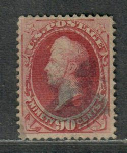 US Sc#155 Used/F-VF, No Faults, Cv. $325