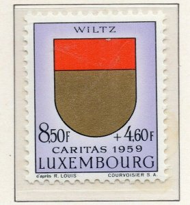Luxembourg 1959 Early Issue Fine Mint Hinged 8.50F. NW-131157