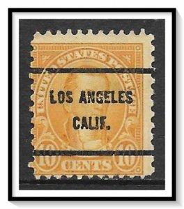 US Precancel #642-61 Los Angeles CA Used