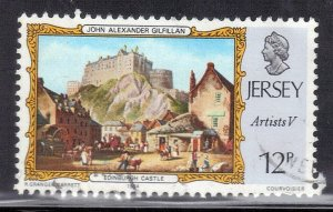 JERSEY SC# 341 **USED** 1984  22p  SEE SCAN